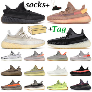 Kanye 남성 여성 운동화 트레이너 Carbon Cinder Zebra Static Yecheil Reflective Beluga Linen Israfil mens Outdoor sports sneakers