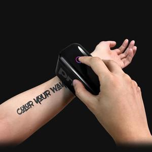 Prinker Tattoo Printer Zweiter Generation Handheld Bluetooth Drucker Tragbare Tintenstrahl für Haut