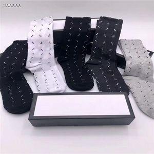 Высококачественные короткие спортивные G Socks Street Style Stripe Sports Baskball Sock для мужчин и MS 5 шт. / Лот Мужской дизайнер с коробкой Смешайте 5 цветов