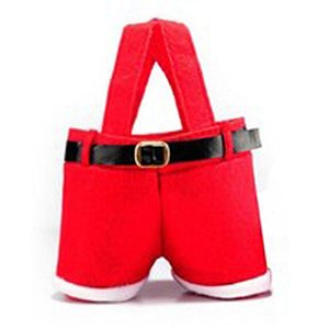 Christmas Gift Bag Christmas Hot Sale Red Wine Holder High Capacity Christmas Bag Wedding Candy Fruit Bag 1pc Gift yxlaFd homes2007