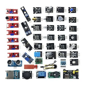 Elektronischer Bauelemente 45 in 1-Sensor-Modul Starter-Kit ist besser als 37 in 1 Sensor 37 Kit 1-Sensor-Kit UNO R3 geeinsackter / Boxed