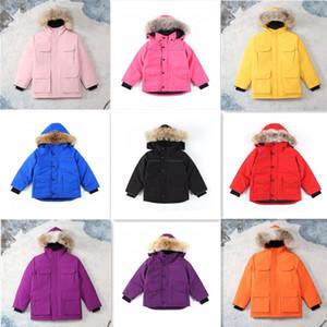2020 Nouvelle hiver Juniores Down Jacket meilleure qualité Manteau chaud vente noir extérieur chaud épais de plumes hiver d'enfants Fashion Down Jacket