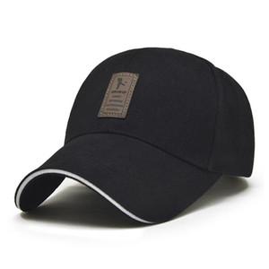 1Piece Baseball Caps Herren justierbare Kappe beiläufige Hüte Solid Color Mode Snapback Sommer-Herbst-Freizeit-Hut