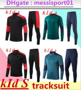 Kinder Juve Training Anzug 20/21 Nationalmannschaft 2021 Trainingsanzug Chandal Futbol Langarm Fußball Jungen Pullover Set