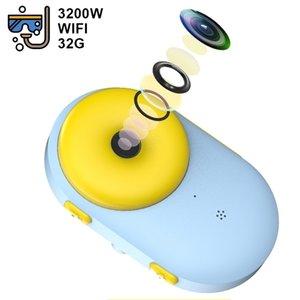 WiFi Children's Waterproof Mini Dual Photography Sports Digital Toy Birthday Gift Kids Camera 201214