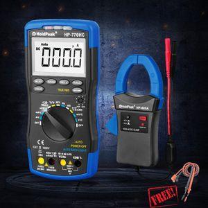 HP-770HC HP-605A 1000V 600A Digital Multimeter Clamp Meter Multimetro True RMS NCV Feature Temperature Frequency Batter HP890CN qG3v#