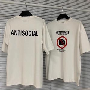 21SSS EUROPE France Shop broderie Tshirt Fashion Mens T-shirts Femmes Vêtements Casual Coton Tee