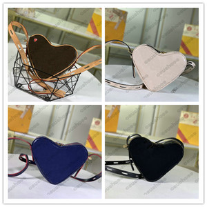 M45419 Love Heart Bag BOITE CHAPEAU SOUPLE Womens Mini Cross Body Boite Chapeau Souple Leather Flower Shopping Handbags