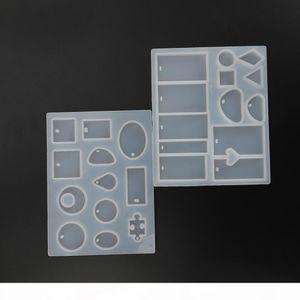 Ciondolo moda scrapbooking stampo in silicone in resina decorativa fai da te gioielli decorativi per la produzione di muffa stampi in resina epossidica