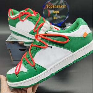최고 품질의 남자 여성 운동 신발 덩크 덩크 낮은 대학교 레드 골드 자정 해군 소나무 녹색 상자 미국 5.5-12 CT0856-600