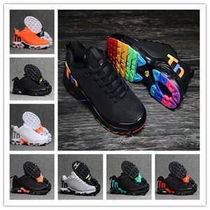 Üst Satış Erkekler Kadınlar Mercurial TN Chaussures Femme TN KPU Koşu Spor Ayakkabı TNS Artı Eğitmenler Sneakers Boyutu 40-47