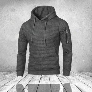 Chrleisure erkek hoodies patchwork uzun kollu hoodies erkek fitness fermuarlı rahat spor student1