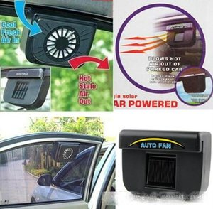 Auto Fan Car Automobile Exhaust Fans Solar Powered Ventilation System Blower Keeps Your Parked Gar Cooler Blows Hot Air LLFA