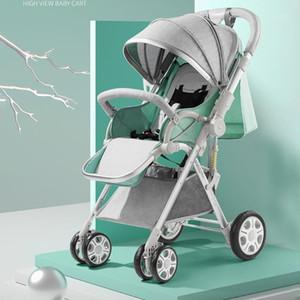 Iiilovebaby طفل عربة طفل 2 في 1 موم الساخن أربع عجلات عربة طفل سلة النقل خفيفة الوزن القابلة للطي تحمل 0-36 أشهر 1