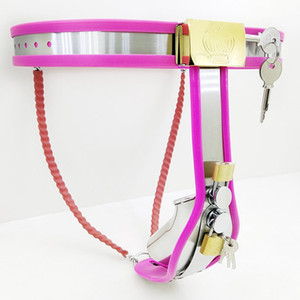 Newest Male Chastity Belt Cock Cage Adjustable Waist Bdsm Bondage Adults Product Flirt Sex Toys Chastity Pants Penis Cage.