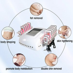 Fat Brning Diode Lipo Laser Slimming Machine Hot Sale Machine Improve Skin Elasticity Body Shaping Skin Tightening Beauty Equipment 2021