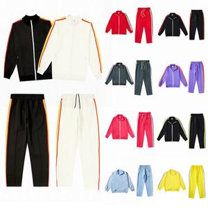 20ss mens designer de treino capuz Ternos homens rastrear suor terno casacos palma homem casacos casaco camisola do hoodie Sportswear