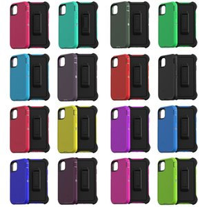 Para iPhone 12 11 Pro XS XR MAX X 8 7 6S PLUS CASO HISCROID ROBÔ RUGGED Água impermeável Anti-Fall Defender Designer Cases