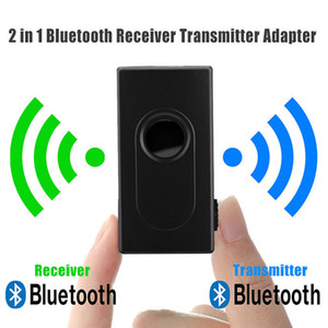 2 in1 Bluetooth Transmitter Receiver Car Kit 3.5mm Stereo Wireless Music Audio Cable Dongle V4.2 Adapter for TV DVD Mp3 high quality