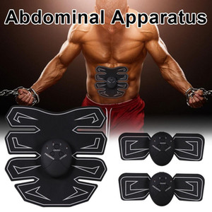 8 pieces of abdominal muscle pressure sensitive adhesive soft patch muscle patch intelligent fitness equipment