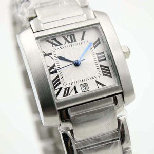 Top Quality Sapphire Glass argento quadrante quadrante stile moda uomo orologio orologi orologi in acciaio inox cinturino in acciaio inox king mens orologi da polso
