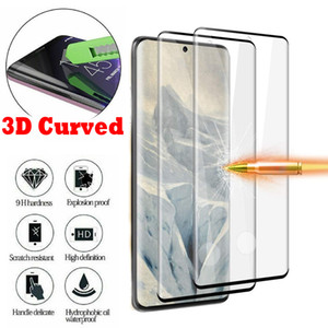 3D Full Coverage Curved Tempered Glass Screen Protector For Samsung Galaxy S10 S8 S9 Plus S20 Ultra Note 10 9 8 Protective Film new