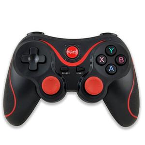Top-Qualität drahtloser Bluetooth-Controller für Vibration Joystick Gamepad Game Controller mit Kleinpaket LOGO-Game-Controller DHL