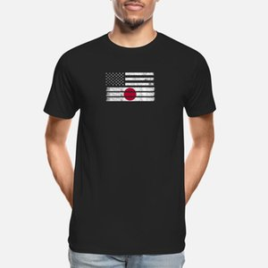 Japanese American Flag - USA Japan Shirt Designers Graphic T Shirt Funky Popular Custom Tracksuit Hoodie Sweatshirt