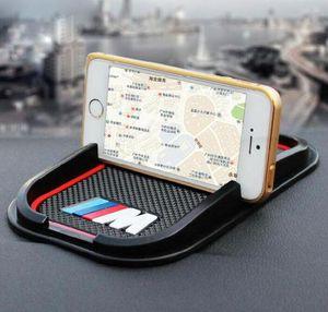 Anti-slip Car Phone Mat GPS support Sticker for BMW M M3 M5 M6 E30 E34 F10 F15 F30 X1 X3 X5 X6 E36