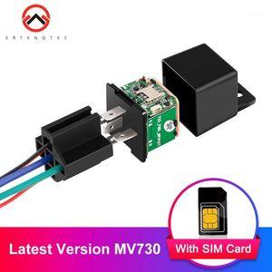 Accesorios de GPS de automóviles Tracker de vehículos Últimas versiones MV730 ACC Tow alerta Relé Cortado Auto Auto Brazo Geofence 6-40V Mini seguimiento1