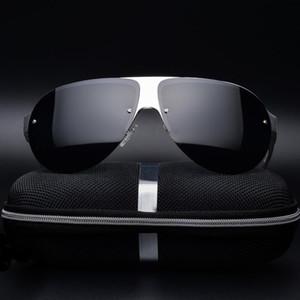الكلاسيكية الألومنيوم المغنيسيوم المستقطبة قيادة نظارات رجالي ريترو ذكر حملق نظارات شمسية للرجال مرآة ظلال
