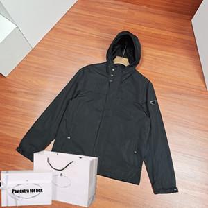 Mens Fashion Jacken Aktive Winddichtes Outfit Kleidung 2020 neue schwarze kühle dünne Mantel-beiläufige mit Kapuze Kleidung mit Taschen New Fashion Bomber