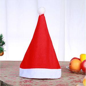 Cappello di Babbo Natale Ultra morbido peluche di Natale di Cosplay Cappelli Decorazione natalizia adulti Christmas Party Hats GGB2347