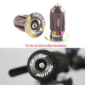 15.5-22.2mm Bisiklet Handlebar için bisiklet Bisiklet Gidon sonu Fişler MTB Yol Bisikleti Bisiklet Alüminyum Alaşım Gidon Sapları Cap