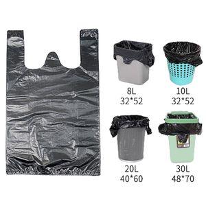 Storage Plastic Waste Bins Trash Kitchen Bucket Bag Thickening Garbage Bag Automatic Closing Portable Trash Bag