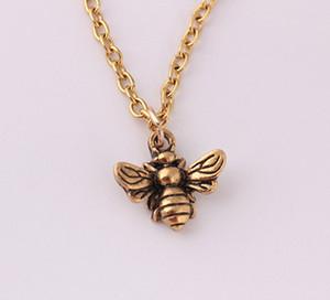 Collana all'ingrosso collana del pendente della Rosa Ape collane Insect maglione lungo