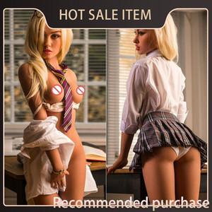 Real Sex Doll Silicone Love Dolls Taille silicone Produits Sex vie Poupées tendre poitrine réaliste pour poupée adulte Homme japonais Jouets hommes Hkrvi