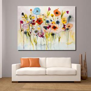 Jqhyart astratto rosso giallo blu moderno parete immagini per soggiorno pittura pittura murale immagine tela arte no fotogramma LJ201128