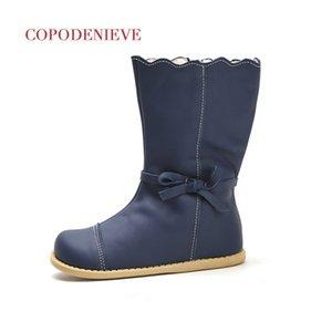 COPODENIEVE Winter-Splash Wasserdicht Mädchen Boots Ski Cloth Warmer Schnee Stiefel Kinder Jungen, Vlies-Kind-Schuh-Mädchen-Mutter-Tochter-201020