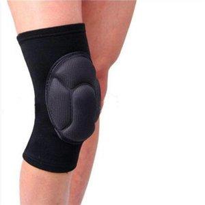 Falchproof joelho almofadas antiderrapante perna de basquete joelho longo protetor sólido favo de mel esportes acidente universal plataforma universal