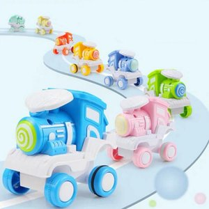 Rolling train model toy, mini size, 4 styles, cute 360° rolling, used for birthday gifts for children partying Christmas, home decorations