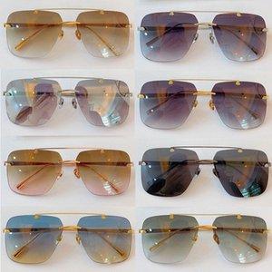 Brand Men's Sunglasses HONAIZENI Men's Designer Luxury Metal Sunglasses Pilot Design Radiation Protection UV400 Lenses with Origin