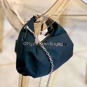 2020 Charm Womens Luxury Designer Purses Handbags Cloud Designer's Pleated Canvas Zipper Underarm Letter Crossbody Bag