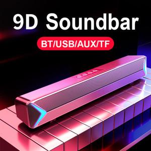 Bluetooth Hoparlör Ev Sineması Surround Soundbar TV FM Radyo Kablolu ve Kablosuz Ses Bas