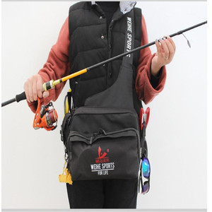 Multifunctional Fishing Bags 3 Layer Fishing Bag Carp Tackle Canvas Lure Reel Waist Pack Messenger Package