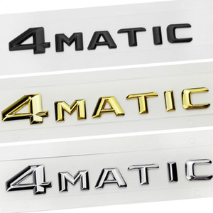 Cartying 2015 4matic 4 Matic Logo Logo Emblème Badge Stickers Décalque pour Mercedes Benz S500 GLS63 E320L GLS400 GLK260 R400 CLA45