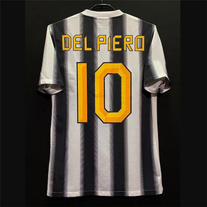 Rétro 95-03 11/12 Jerseys de football Zidane Del Piero Pirlo Vialli Trezeguet Vieri Inzaghi Salas Nedved Boksic Kits Vintage Kits classiques