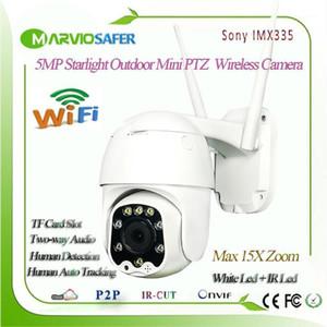Telecamere 5MP wireless 5x Zoom Mini PTZ IP WiFi Camera Velocità Velocità DOME CCTV Security Outdoor IR 30m Due Via Audio P2P Camhi1
