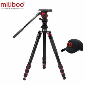 miliboo MUFA Lightweight Путешествие видеокамеры Штатив Центральной Осевая Инверсия Marco Shoot для фотографии на открытом воздухе движения