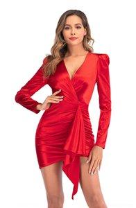 RZDW Designer Женщины комбинезон Сексуальные Rompers Bodysuit Новый NightClub Мода С Длинным Рукавом Печатная Тонкая женская Yoga Брюки Леди Одежда 870